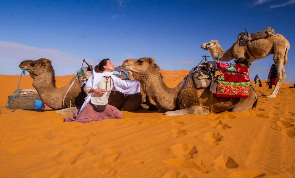 Camel trip morocco sahara