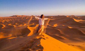 morocco yoga retreat in the sand