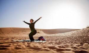 yoga retreat in morocco sahara desert