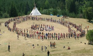 rainbow gathering retreats