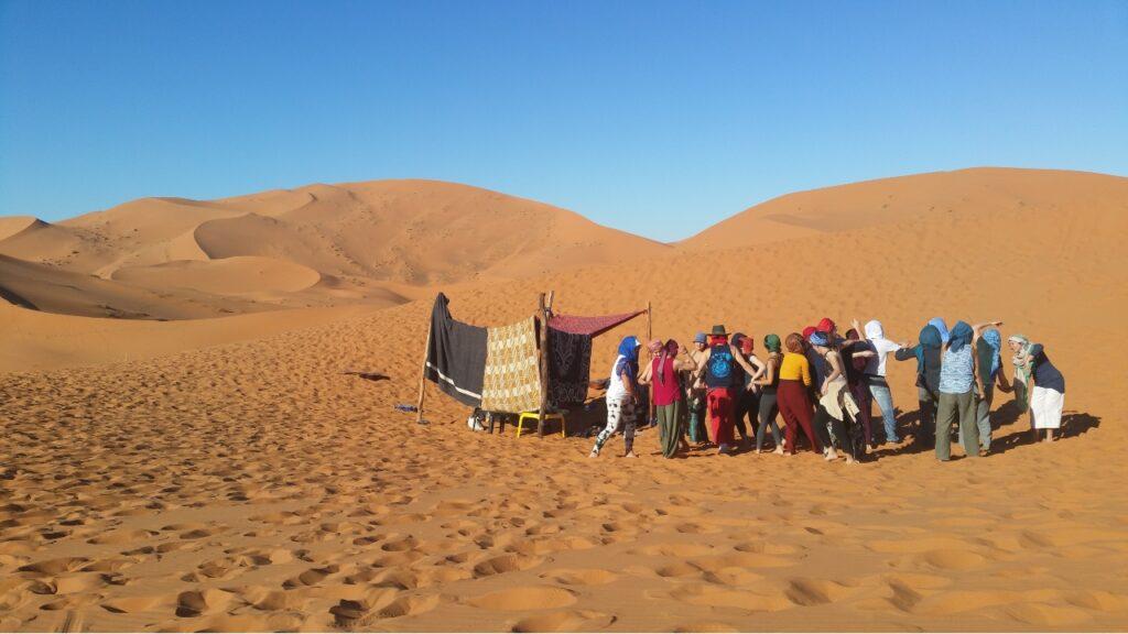 contact improv retreat in morocco