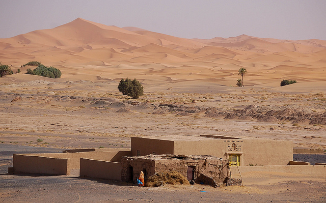 sahara house in morocco